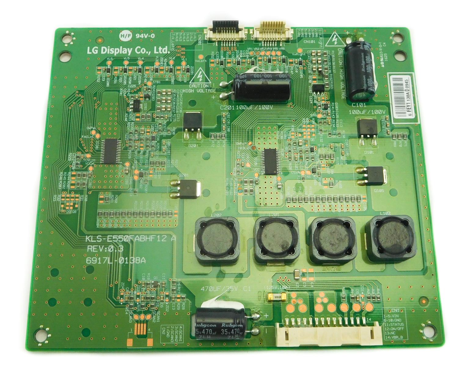 LG Display KLS-E550FABHF12 A 6917L-0138A Inverter Board